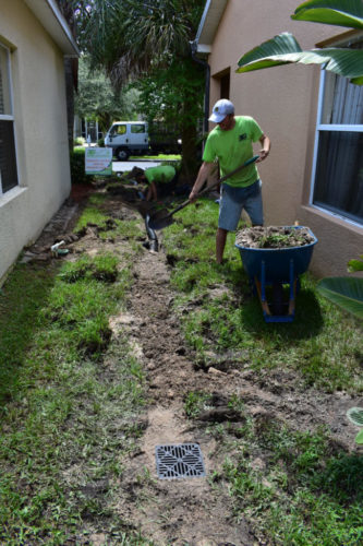 French Drain Installation Detroit